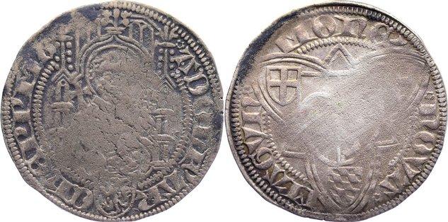 Weißpfennig 1461-1475 Mainz, Erzbistum Adolf II. von Nassau 1461-1475. schön +