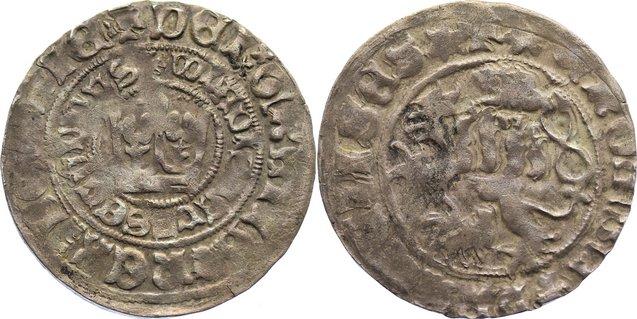 Prager Groschen 1471-1516 Böhmen Wladislaus II. 1471-1516. fast sehr schön