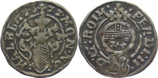 Groschen 1622 Halberstadt, Gemeinschaftsprägungen selten, sehr schön