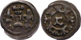 Denar 1272-1290 Ungarn Ladislaus IV. 1272-1290. kl. Randfehler, sehr schön