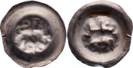 1252-1279 Braunschweig-herzoglich welfische Münzstätte Albrecht der Große 1252-1279. selten, sehr schön