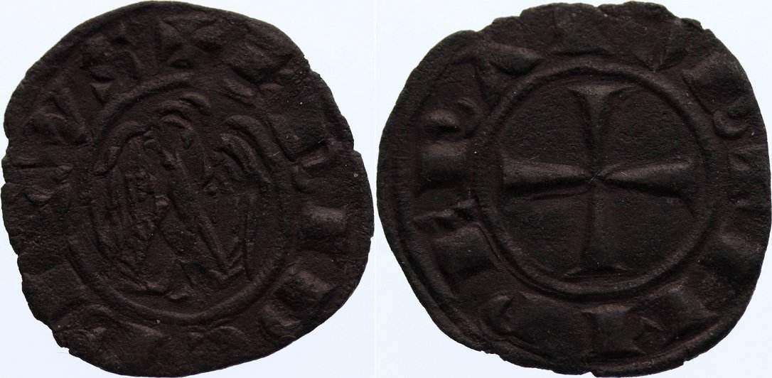 Denar um 1220 Italien-Sizilien Friedrich II. 1220-1250. sehr schön