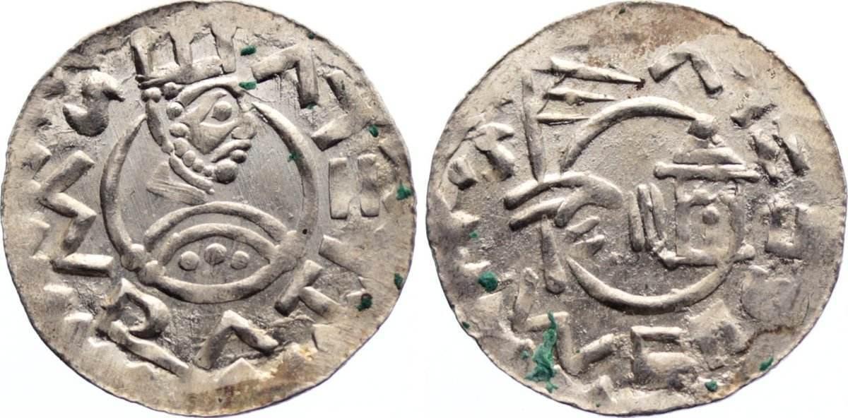 Denar 1061-1092 Böhmen Wratislaw II. 1061-1092. vorzüglich +