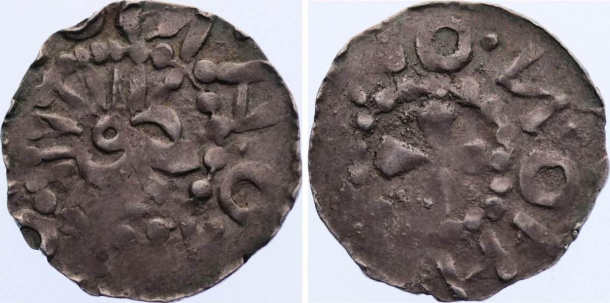 Pfennig 1010-1020 Ostfriesland Friesische Imitationen 1010-1020. leichte Prägeschwäche, sehr schön