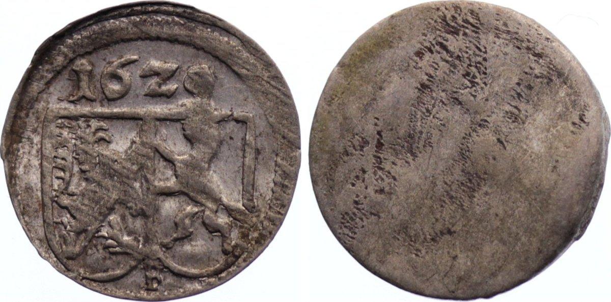 Einseitiger Pfennig 1629 F Bamberg, Bistum Johann Georg Fuchs von Dornheim 1623-1633. sehr schön - vorzüglich