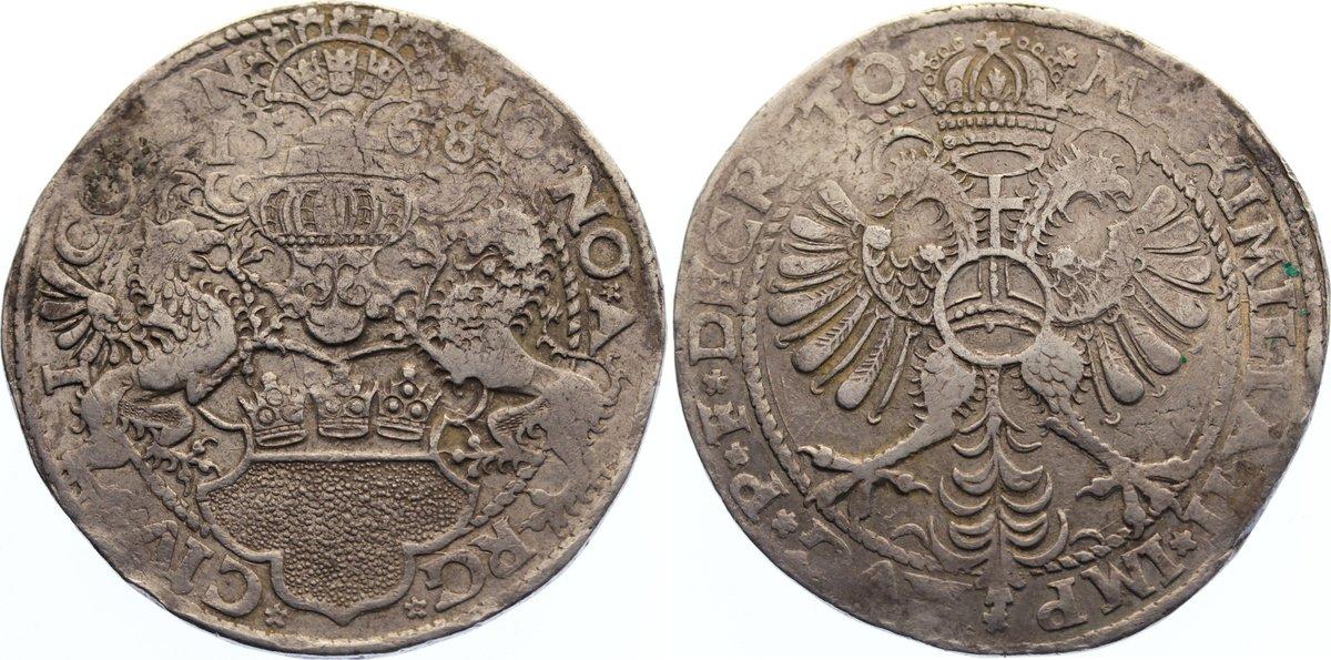 Taler 1568 Köln, Stadt sehr schön