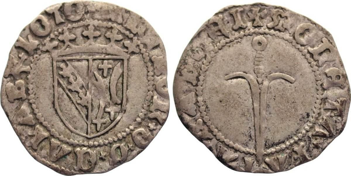 Sol de Guerre 1508-1544 Frankreich-Lothringen Anton 1508-1544. sehr schön