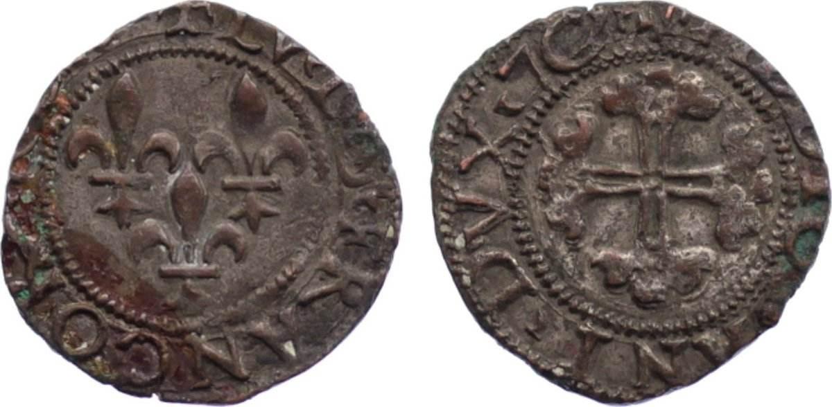 Trillina 1500-1513 Italien-Mailand Französische Besetzung unter Ludwig XII. 1500-1513. sehr schön