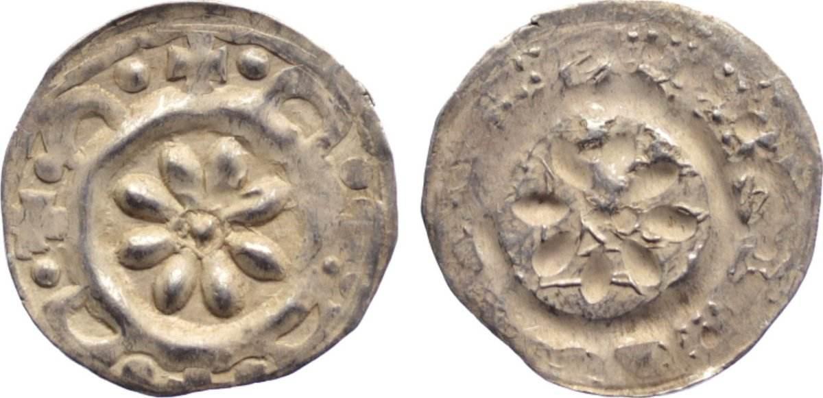 Pfennig 1286-1296 Bamberg, Bistum Arnold von Solms 1286-1296. Prägeschwäche am Rand, sehr schön - vorzüglich