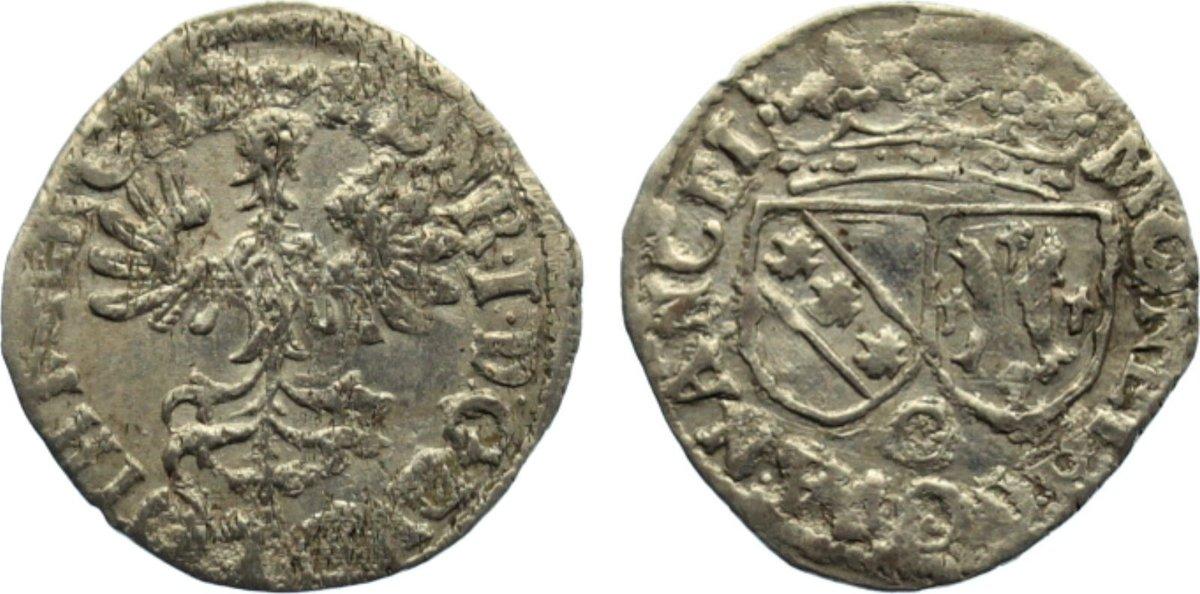 Gros 1608-1624 Lothringen, Herzogtum Heinrich II. 1608-1624. Stempelfehler, sehr schön