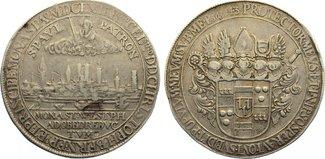 Breiter Taler 1661 Münster, Bistum Christoph Bernhard von Galen 1650-1678. fast sehr schön