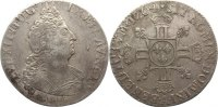 Frankreich 1/2 Ecu aux 8L Ludwig XIV. 1643-1715.