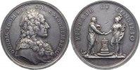 Haus Habsburg Silbermedaille Maria Theresia 1740-1780.