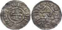 Regensburg, königliche Münzstätte Denar Heinrich d. Heilige als Herzog 995-1002.
