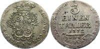 Lippe-Detmold 1/3 Taler Simon August 1734-1782.