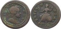 Großbritannien Cu Farthing George I. 1714-1727.