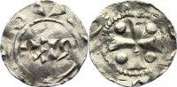 Niederlande-Deventer, königliche Münzstätte Pfennig Heinrich II. 1002-1024.