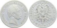 Hessen 2 Mark Ludwig III. 1848-1877.
