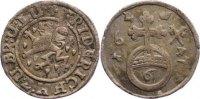 Braunschweig-Lüneburg-Celle 6 Pfennig Friedrich von Celle 1636-1648.