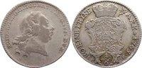 Sachsen-Gotha-Altenburg 1/6 Taler (1/8 Konventionstaler) Friedrich III. 1732-1772.