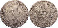 Sachsen-Albertinische Linie Taler Christian II. und seine Brüder unter Vormundschaft 1591-1601.