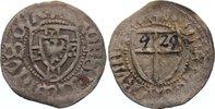 Deutscher Orden Schilling Heinrich Reffle von Richtenberg 1470-1477.