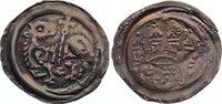 Bamberg, Bistum Pfennig Ekbert von Andechs 1203-1237.