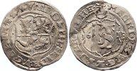 Mecklenburg-Schwerin 1/16 Taler (Doppelschilling) Adolf Friedrich I. 1610-1658.