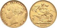 Australien Sovereign Victoria 1837-1901.