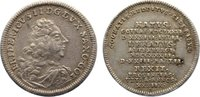 Sachsen-Gotha-Altenburg Silberabschlag vom Dukaten Friedrich II. 1691-1732.