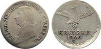 Brandenburg-Preußen 9 Kreuzer Friedrich Wilhelm III. 1797-1840.