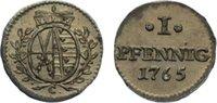 Sachsen-Albertinische Linie Pfennig Friedrich August III. 1763-1806.