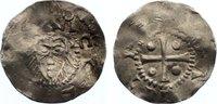 Niederlande-Deventer, königliche Münzstätte Pfennig Konrad II. 1024-1039.