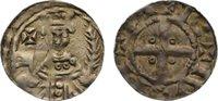 Niederlande-Nijmegen, königliche Münzstätte Pfennig Friedrich I. Barbarossa 1152-1190.