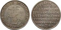 Stolberg-Stolberg Ausbeute 1/3 Taler Christoph Friedrich und Jost Christian 1704-1738.