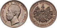 Schützenmedaillen Gera Silbermedaille 1886 feine P