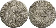 Erzbistum Trier Weisspfennig Jakob I.  von Sierk / Mzst. Koblenz / 1444