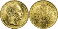 Österreich 8 Florin / 20 Franken Franz Joseph I