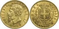 Italien 20 Lire Vittorio Emanuele II. / 20 Lire / 1862