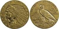 Vereinigte Staaten von Amerika 5 Dollars 5 Dollars 1912 ohne Mzz., Philadelphia (Half Eagle), Indianerkopf