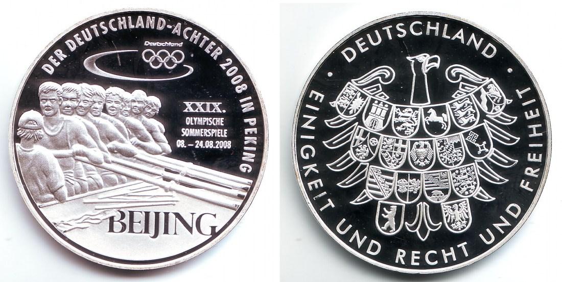 2008 Deutschland Olympsche Spiele 2008 In Peking Rudern