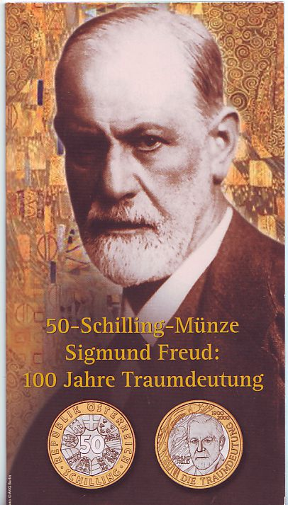 Briefe Traumdeutung : Schilling im blister Österreich münze