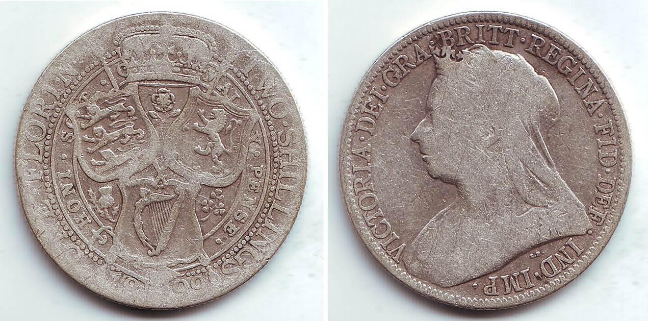 Briefe Queen Victoria : Shilling großbritannien silbermünze queen