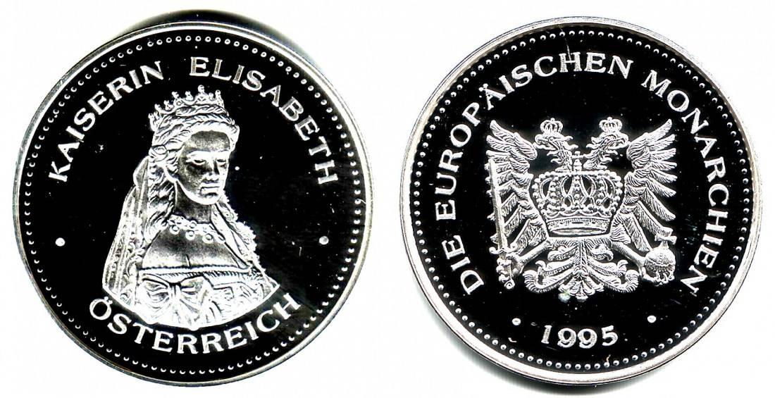 Medaille 1995 österreich Medaille Kaiserin Elisabeth Von österreich