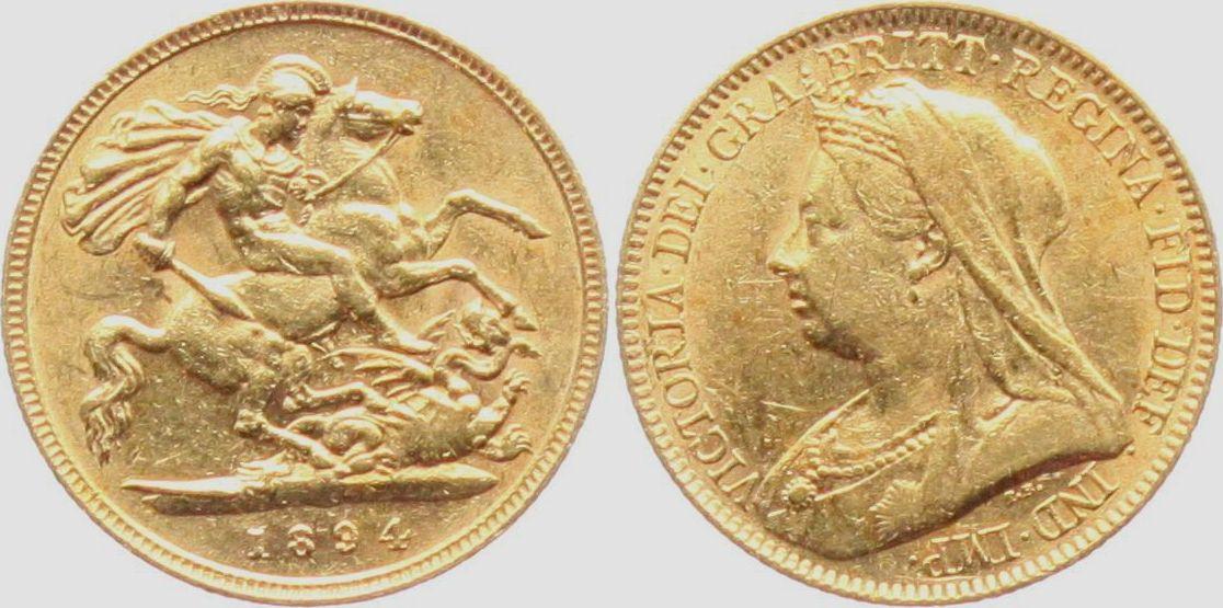 Briefe Queen Victoria : Sovereign großbritannien queen victoria