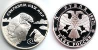 Russland 3 Rubel Eisbär und Walross
