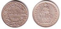 Schweiz 2 Franken 2 Franken - stehende Helvetia