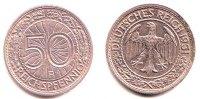 Weimar 50 Pfennig Kursmünze