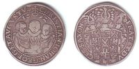 Sachsen - Albert. Linie 1 Taler Christian Johann Georg August (1591 - 1611)