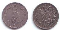 Ersatzmünzen des 1. Weltkrieges 5 Pfennig 5 Pfennig